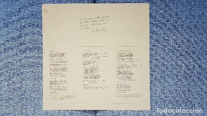Discos de vinilo: José María Purón - Alma. editado por Ambar. año 1.977. Carátula doble. contiene letras canciones - Foto 4 - 205737431