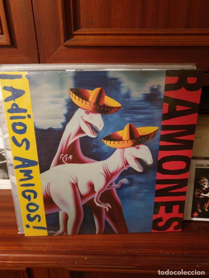 RAMONES / ADIOS AMIGOS / VACANT RECORDS 201? (Música - Discos - LP Vinilo - Punk - Hard Core)