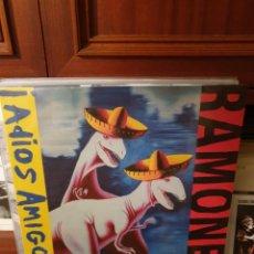 Disques de vinyle: RAMONES / ADIOS AMIGOS / VACANT RECORDS 201?. Lote 223348710