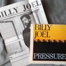 Discos de vinilo: BILLY JOEL - PRESSURE. SINGLE PROMOCIONAL EDICIÓN ESPAÑOLA.. Lote 205739060