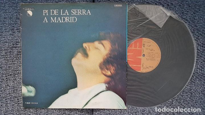 PI DE LA SERRA - A MADRID. EDITADO POR EMI ODEON . AÑO 1.977. EXCELENTE ESTADO (Música - Discos - LP Vinilo - Solistas Españoles de los 70 a la actualidad)