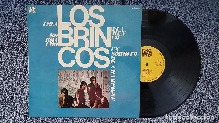 LOS BRINCOS- 12 ÉXITOS. EDITADO POR CAUDAL. AÑO 1.976. FLAMENCO,MEJOR,BORRACHO,LOLA,AMIGA MIA, ETC (Música - Discos - LP Vinilo - Grupos Españoles 50 y 60)