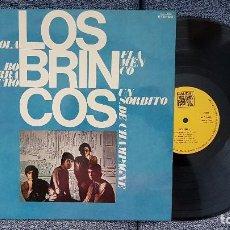 Discos de vinilo: LOS BRINCOS- 12 ÉXITOS. EDITADO POR CAUDAL. AÑO 1.976. FLAMENCO,MEJOR,BORRACHO,LOLA,AMIGA MIA, ETC. Lote 205744133