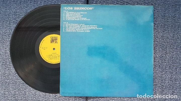 Discos de vinilo: Los Brincos- 12 Éxitos. editado por Caudal. año 1.976. Flamenco,Mejor,Borracho,Lola,Amiga mia, etc - Foto 2 - 205744133