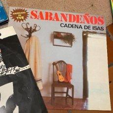 Discos de vinilo: COLECCION LOS SABANDEÑOS - 9 VINILOS LP. Lote 205748185