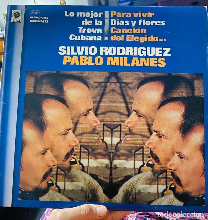 LP - SILVIO Rodriguez, PABLO Milanes - Lo mejor de la Nova Trova Cubana - 1981 segunda mano