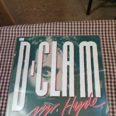 Discos de vinilo: D-CLAM MR.HYDE, JUSTIN- C 070, 1988, ROCK POP, ESPAÑOL.. Lote 205755825