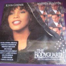Discos de vinilo: THE BODYGUARD (EL GUARDAESPALDAS) LP ARISTA 1992 PRECINTADO - WHITNEY HOUSTON - CINE BSO POP 90'S. Lote 205755990