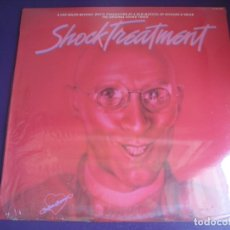 Discos de vinilo: SHOCK TREATMENT LP HISPAVOX 1981 PRECINTADO - BSO CINE - RICHARD O'BRIEN - ROCKY HORROR PICTURE SHOW. Lote 205756070