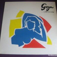 Discos de vinilo: GOYA ...A LIFE IN SONG LP CBS 1988 - BSO CINE - PLACIDO DOMINGO - RICHIE HAVENS - DIONNE WARWICK ETC. Lote 205756512