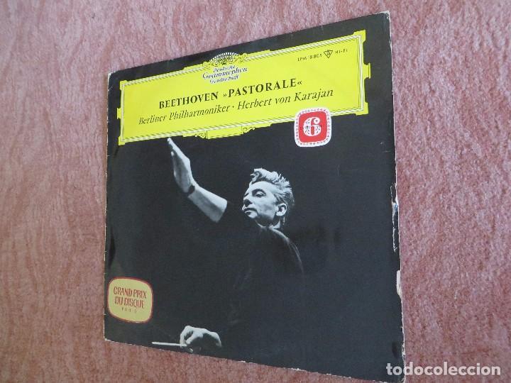 BEETHOVEN PASTORALE 6 SYMPHONIE BERLINER PHILHARMONIKER. HERBERT VON KARAJAN (Música - Discos - LP Vinilo - Clásica, Ópera, Zarzuela y Marchas)