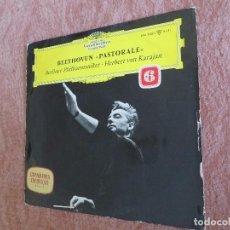Discos de vinilo: BEETHOVEN PASTORALE 6 SYMPHONIE BERLINER PHILHARMONIKER. HERBERT VON KARAJAN. Lote 205756640
