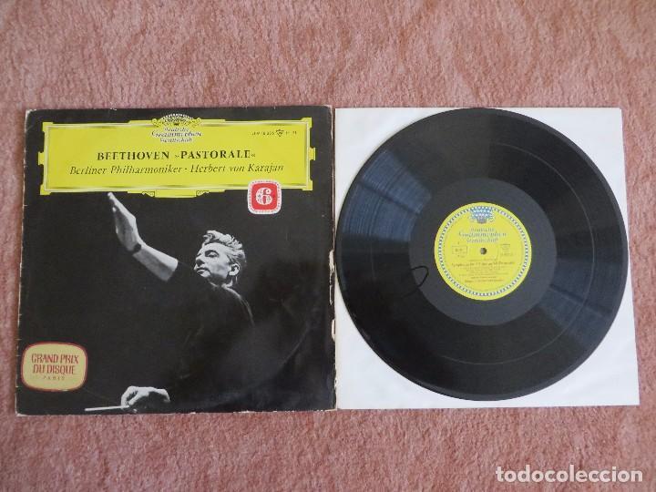 Discos de vinilo: BEETHOVEN PASTORALE 6 symphonie Berliner Philharmoniker. Herbert von Karajan - Foto 3 - 205756640