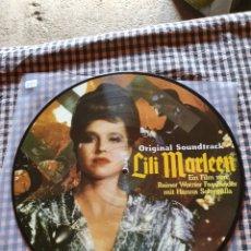 Discos de vinilo: LILI MARLEEN, ORIGINAL SOUNDTRACK, PICTURE DISC, 1984.. Lote 205763640