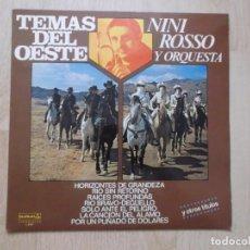 Discos de vinilo: NINI ROSSO Y SU ORQUESTA, TEMAS DEL OESTE, 1978, POR UN PUÑADO DE DOLARES, DJANGO,ETC. Lote 205764362