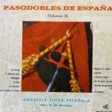Discos de vinilo: PASODOBLES DE ESPAÑA. J.M.MOLINA. ORQUESTA TIPICA ESPAÑOLA. SUSPIROS DE ESPAÑA.. Lote 205766001