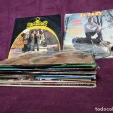 Discos de vinilo: LOTE DE UNOS 15 DISCOS DE VINILO, SINGLES, MÚSICA ESPAÑOLA, A CLASIFICAR. Lote 205766091