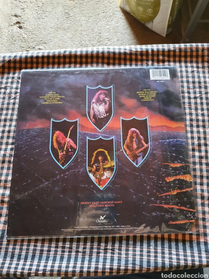 Discos de vinilo: Armored saint -- raising fear, chrysalis - bfv 41601, usted, 1987. - Foto 2 - 205766111