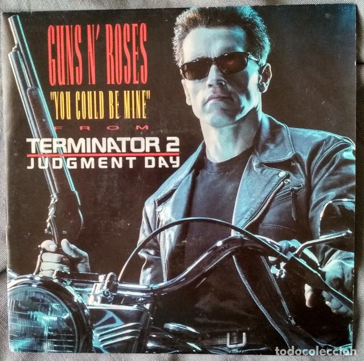 GUNS N' ROSES - YOU COULD BE MINE SINGLE, EDICIÓN ESPAÑOLA 1991 (Música - Discos - Singles Vinilo - Heavy - Metal)