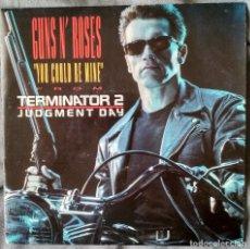 Discos de vinilo: GUNS N' ROSES - YOU COULD BE MINE SINGLE, EDICIÓN ESPAÑOLA 1991. Lote 205769865