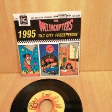 Discos de vinilo: THE HELLACOPTERS, 1995, TILT CITY, FREESPEEDIN'.. Lote 205769905