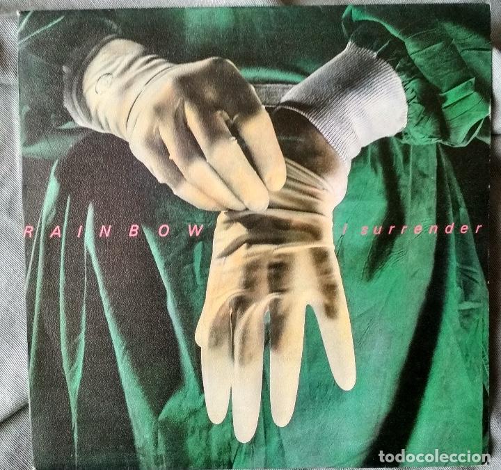 RAINBOW - I SURRENDER. SINGLE, EDICIÓN ESPAÑOLA 1981. (Música - Discos - Singles Vinilo - Heavy - Metal)