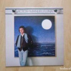 Discos de vinilo: VÍCTOR MANUEL, LUNA: QUIÉN PUSO MÁS, XANA, PIDO LA PAZ Y LA PALABRA , CBS 1980. Lote 205770861