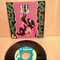 Discos de vinilo: DR. EXPLOSION, SURF & SHAKE, SMILE NOW.. Lote 205771036
