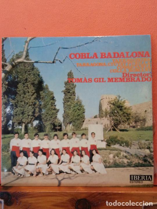 COBLA BADALONA.TOMAS GIL I MEMBRADO. TARRAGONINA. TARRAGONA, CIUTAT PUBILLA. (Música - Discos - LP Vinilo - Otros estilos)