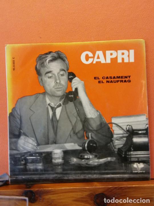 JOAN CAPRI. VERGARA,S.A. EL CASAMENT. EL NAUFRAG. (Música - Discos - LP Vinilo - Otros estilos)