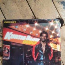 Discos de vinilo: KURTIS BLOW : DEUCE [ESP 1981] LP. Lote 205775460