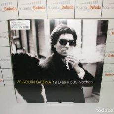 Discos de vinilo: JOAQUIN SABINA 19 DÍAS Y 500 NOCHES (LP-VINILO) DOBLE VINILO NUEVO Y PRECINTADO ENVIÓ 2 EUROS. Lote 222558598