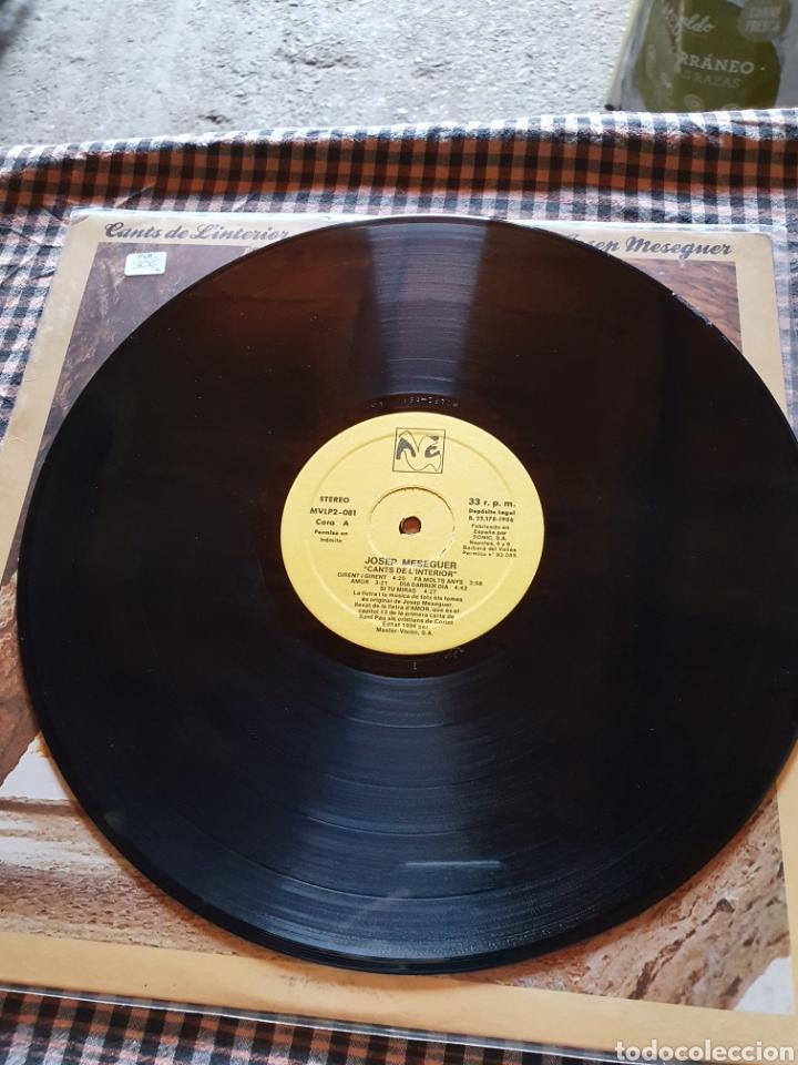 Discos de vinilo: Josep meseguer, cants de la interior, 1986 - Foto 4 - 205780433