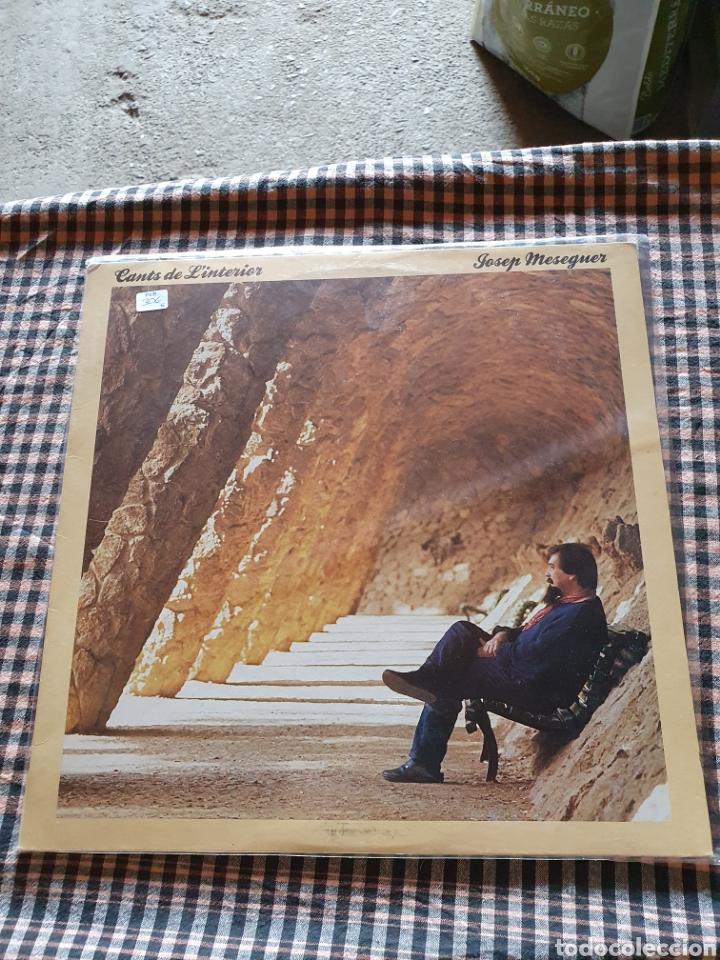 JOSEP MESEGUER, CANTS DE LA INTERIOR, 1986 (Música - Discos - LP Vinilo - Cantautores Españoles)