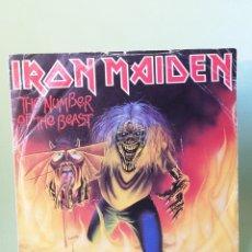 Discos de vinilo: IRON MAIDEN THE NUMBER OF THE BEAST SINGLE EDICIÓN INGLESA EMI 1982. Lote 205782010