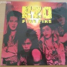 Discos de vinilo: EZO FIRE FIRE LP INSERTO. Lote 205784328