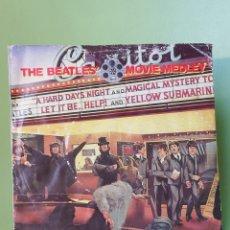 Discos de vinilo: THE BEATLES MOVIE MEDLEY SINGLE EMI RECORDS 1982. Lote 205785521