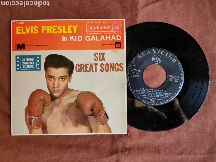 ELVIS PRESLEY EP PELÍCULA KID GALAHAD/ESPAÑA 1962 (Música - Discos de Vinilo - EPs - Rock & Roll)