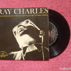 Discos de vinilo: EP RAY CHARLES - LA HORA DE LLORAR (CRYING TIME) +2 - HP 97-78 - SPAIN PRESS (EX+/NM). Lote 205789428