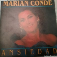 Discos de vinilo: MARIAN CONDE SINGLE SELLO DIPASON AÑO 1993. Lote 205793900