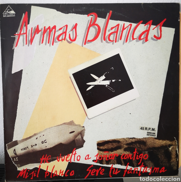 ARMAS BLANCAS - HE VUELTO A SOÑAR CONTIGO ESTA NOCHE (Música - Discos de Vinilo - EPs - Grupos Españoles de los 70 y 80)
