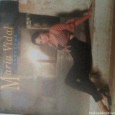Discos de vinilo: MARÍA VIDAL SINGLE SELLO ZAFIRO AÑO 1992. Lote 205797401