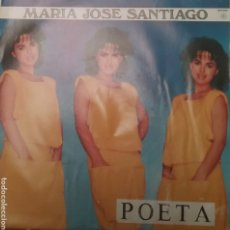 Discos de vinilo: MARÍA JOSÉ SANTIAGO SINGLE SELLO ZAFIRO AÑO 1986. Lote 205798140