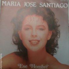 Discos de vinilo: MARÍA JOSÉ SANTIAGO SINGLE SELLO ZAFIRO AÑO 1986. Lote 205798340