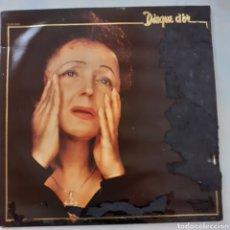 Discos de vinilo: KEITH PIAFF. DISQUE D'OR. FRANCIA, 1980. FUNDA ESTROPEADA POR LA HUMEDAD. DISCO VG++.. Lote 205798881