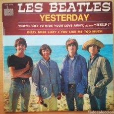 Discos de vinilo: LES BEATLES - SOLO FUNDA PORTADA - YESTERDAY - FRANCIA - SOE 3772. Lote 205799312