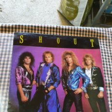 Discos de vinilo: SHOUT - IN YOUR FACE, MUSIC FOR NATIONS - MFN 92 1989.. Lote 205799493