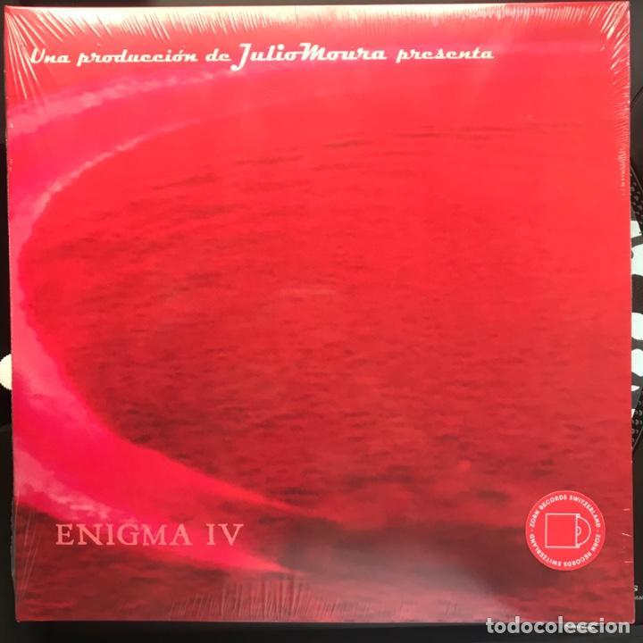 JULIO MOURA  ENIGMA IV GUITARRISTA DE VIRUS (Música - Discos - LP Vinilo - Pop - Rock Extranjero de los 90 a la actualidad)