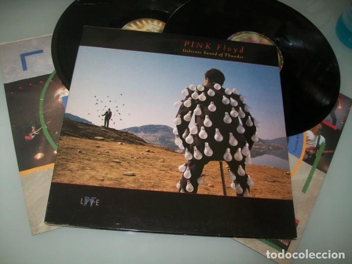 PINK FLOYD - DELICATE SOUND OF THUNDER .. 2 LPS - CARPETA ABIERTA - EMI 1988 ..1ª ED. 176-79 1480- 1 (Música - Discos - LP Vinilo - Pop - Rock - New Wave Extranjero de los 80)
