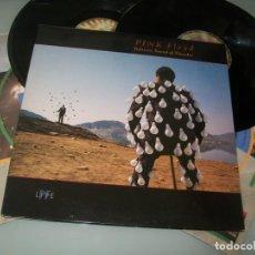 Discos de vinilo: PINK FLOYD - DELICATE SOUND OF THUNDER .. 2 LPS - CARPETA ABIERTA - EMI 1988 ..1ª ED. 176-79 1480- 1. Lote 205801208